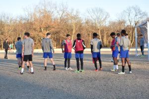 Athletes condition in off season