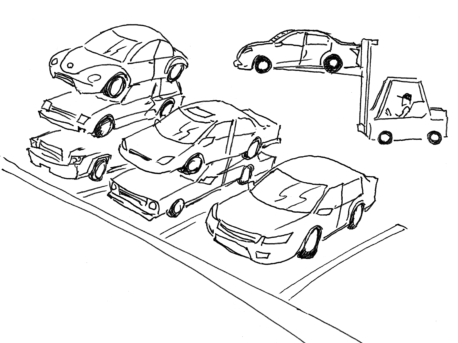 Commuters should consider carpooling:  Students can help with the parking situation