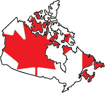 Canada close in distance but not identity