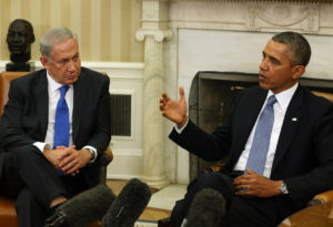 Courtesy of THE STAR U.S. President Obama and Prime Minister Benjamin Netanyahu met in September and signed the Memo of Understanding, making the aid package official.