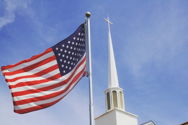 Patriotism and the church: Western values mixing with Christian values