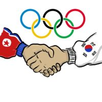 North and South Korea unite for Olympics