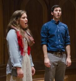 Senior recitals showcase talent