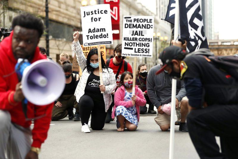 Adam Toledo protests